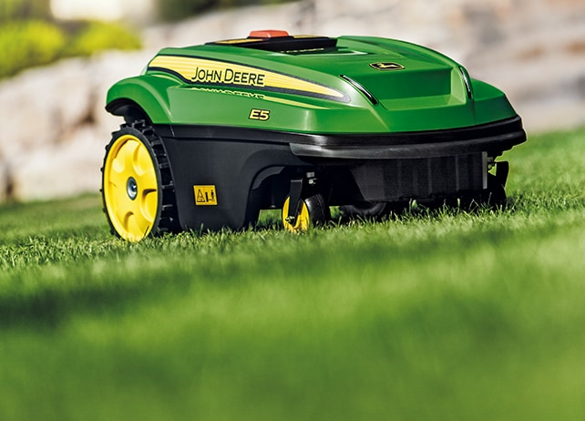 TANGO mows in any weather and at any time-all by itself.