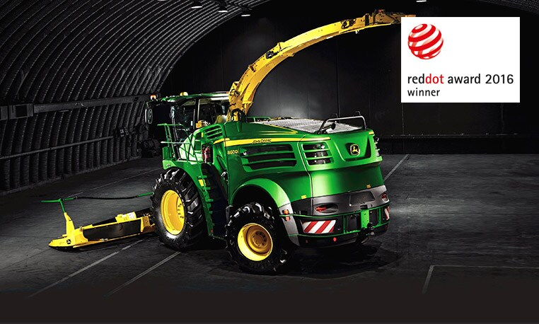 John Deere exakthack får Red dot Award