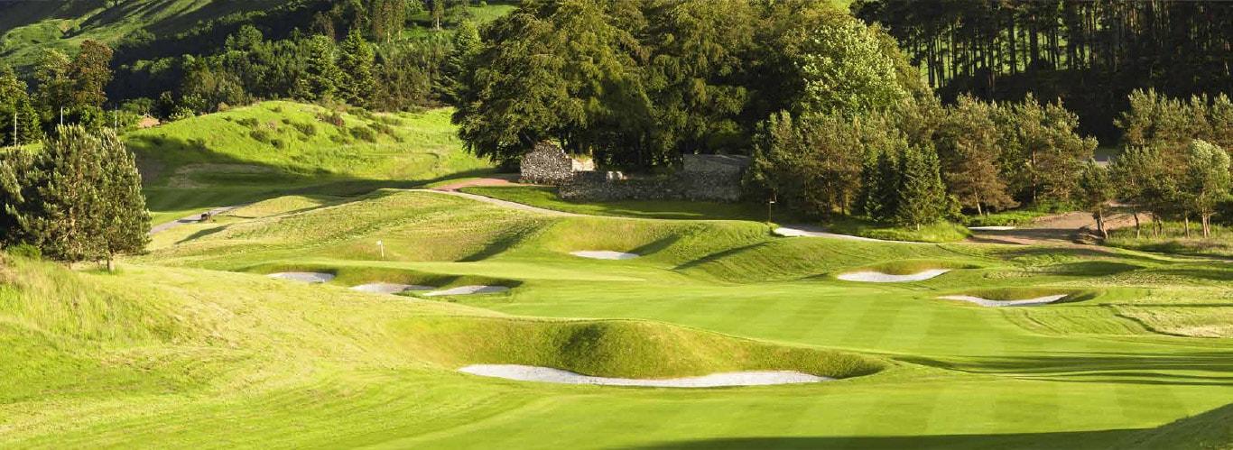 Gleneagles, golfbana