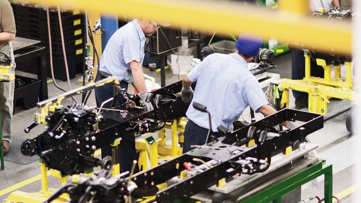 Fabriker i Augusta, Kompakt nyttoutrustning