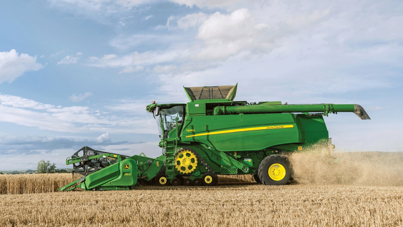 John Deere announces 3rd quarter results