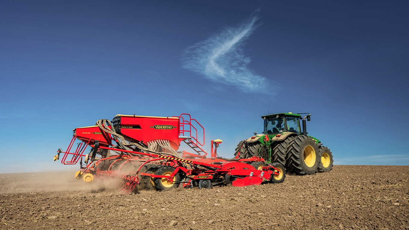 John Deere announces partnership with Väderstad in Russia an