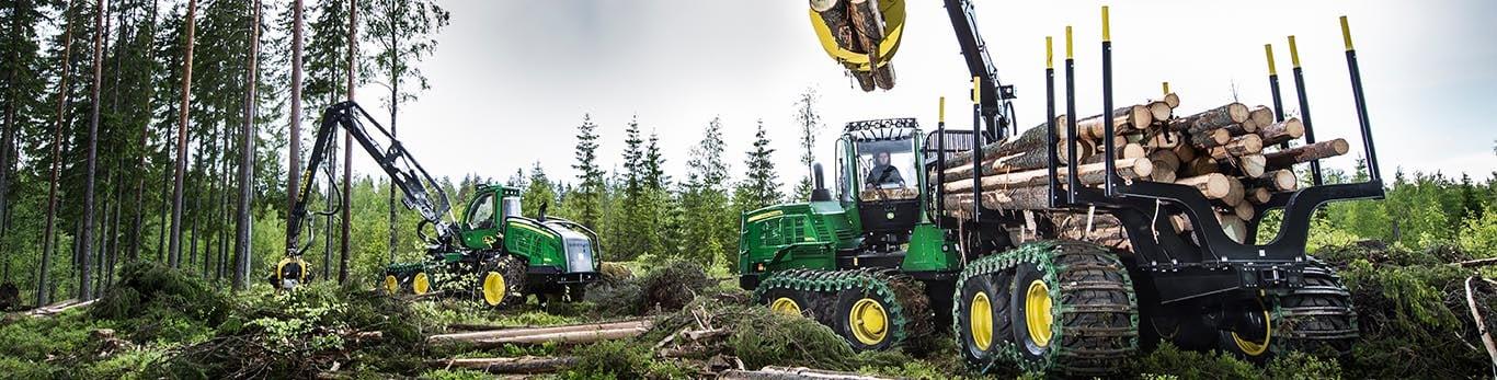 Utökat maskinskydd följer med TimberCare G-serie serviceavtal