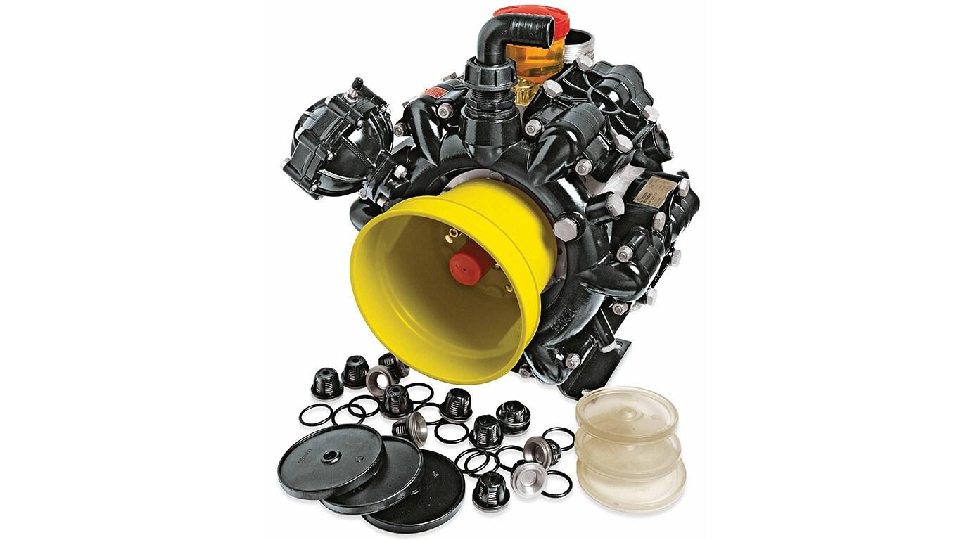 Reservdelar och service: Pump- och reparationssatser