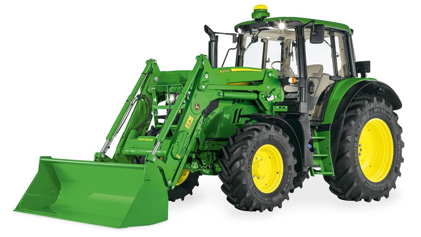 Expertkontroll för traktorer