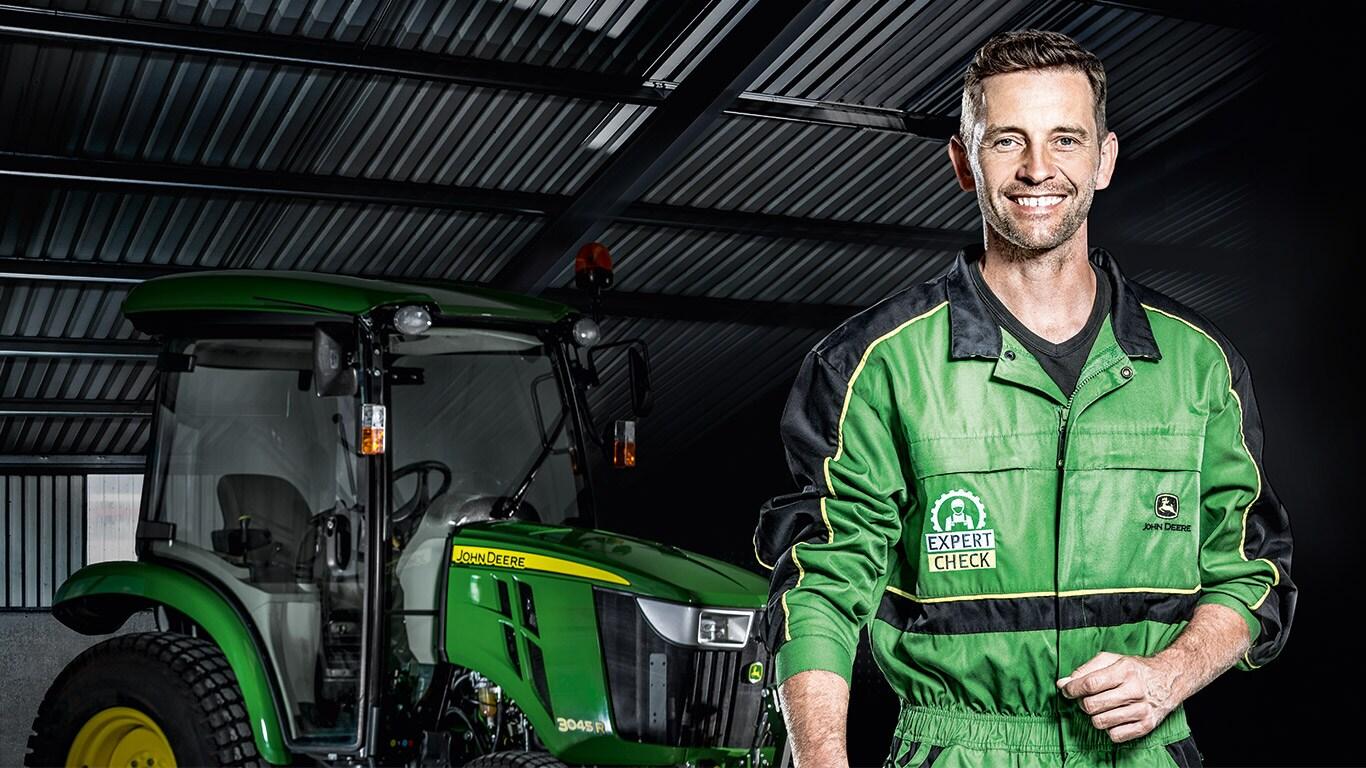 Expert Check för grönyteutrustning