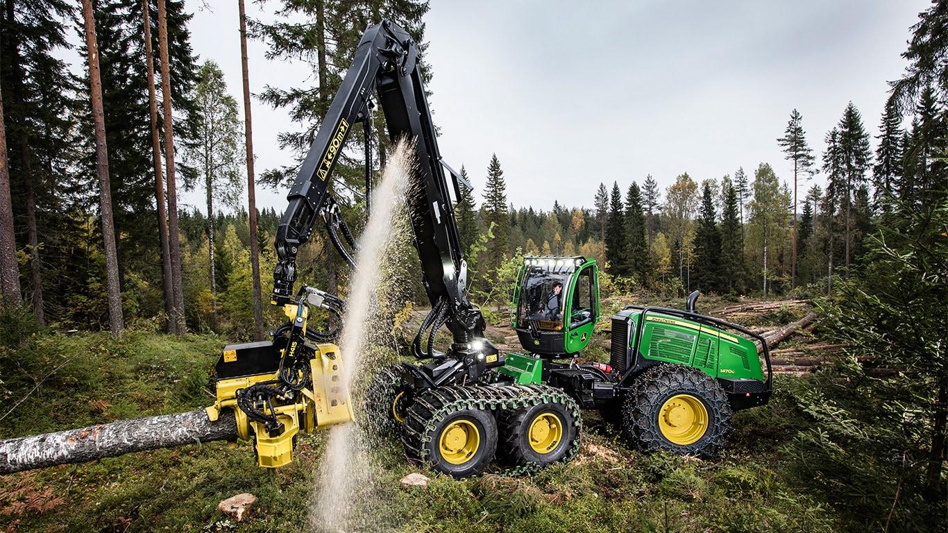 Delar till skogsbruksmaskiner