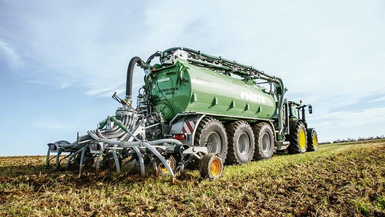 Gödselavkänning – smart organisk näringsfördelning