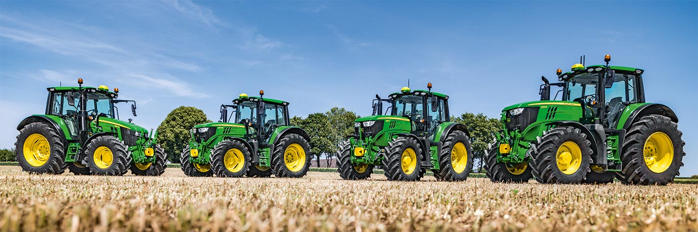 6M-serien traktor
