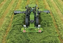 AMS: John Deere tractor on Hay and Forage business